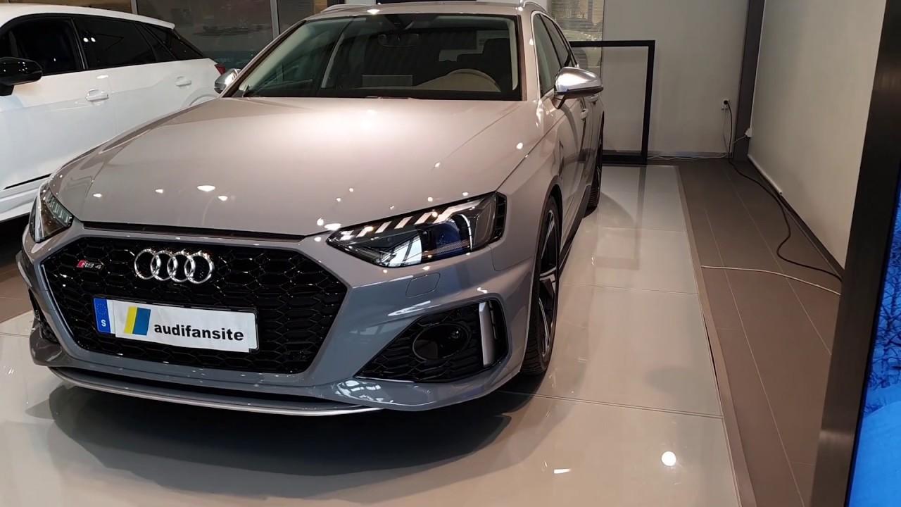 2021 Audi Rs4 Spy Shoot
