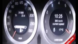 Hız Kadranı Tur Bindirdi  260 Göstergeli arabada 380 Km/h Hız