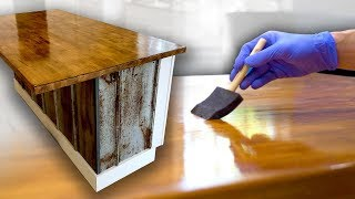 How to Make a Butcher Block Countertop // DIY Woodworking