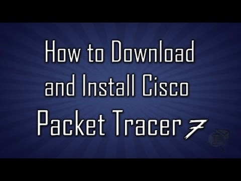 How to install cisco packet tracer in windows 10