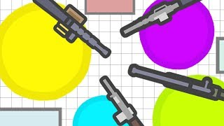NEW AGAR.IO WITH GUNS! (NEW .IO GAME) (Gats.io Gameplay)