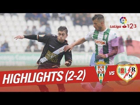 Resumen de Córdoba CF vs Rayo Vallecano (2-2)