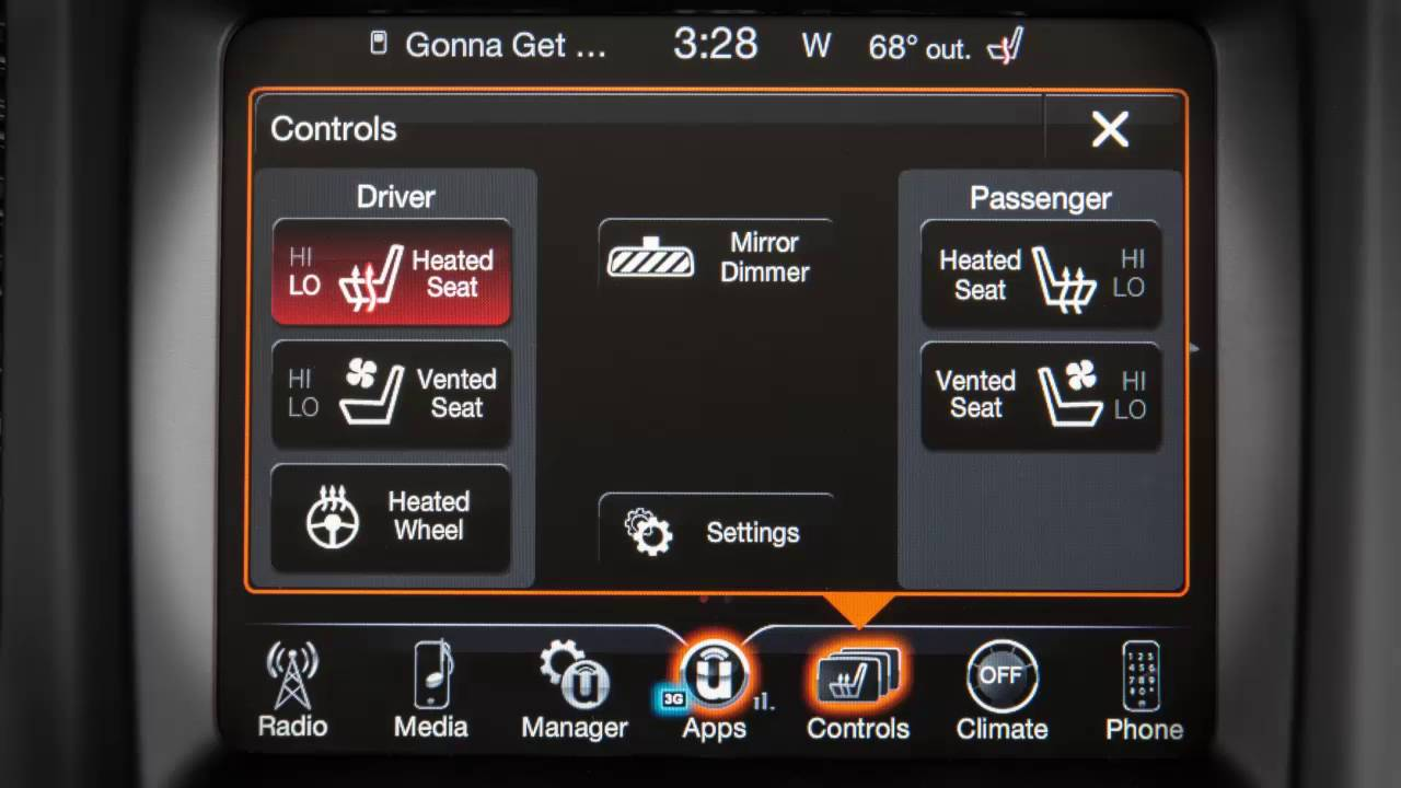 Heated Vented Seats Seat Heaters And Ventilated In 2017 Jeep Cherokee