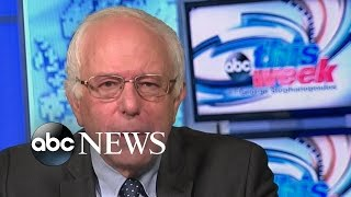 Bernie Sanders on 2016 Campaign, Foreign Policy Positions
