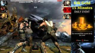 Mortal Kombat X Mobile - Farming Gold Koins