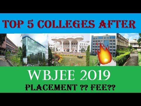 Top 5 Colleges After WBJEE 2019 L Placement L Fee L Cut Offs L College Options L Kolkata L Jadavpur