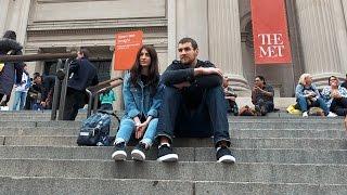 видео Музей Метрополитен в Нью-Йорке. Метрополитен-музей, Нью-Йорк, США