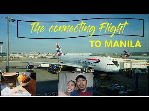 Flying to Manila in 4 airports safely