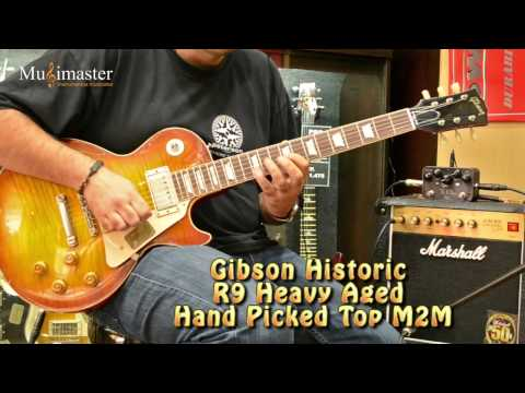 Gibson Les Paul Historic R9 Heavy Aged Hand Picked M2M