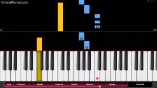 Enrique Iglesias - Subeme La Radio - Easy Piano Tutorial
