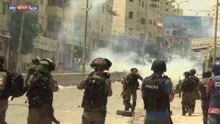 القوات الإسرائيلية تقمع تظاهرات قرب قلنديا