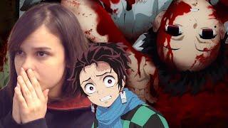 Kimetsu no Yaiba Demon Slayer  EP1 REACTION