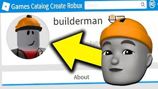 MAKING BUILDERMAN A ROBLOX ANIMOJI!!