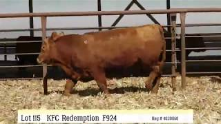 Lot 115 - KFC REDEMPTIONF924