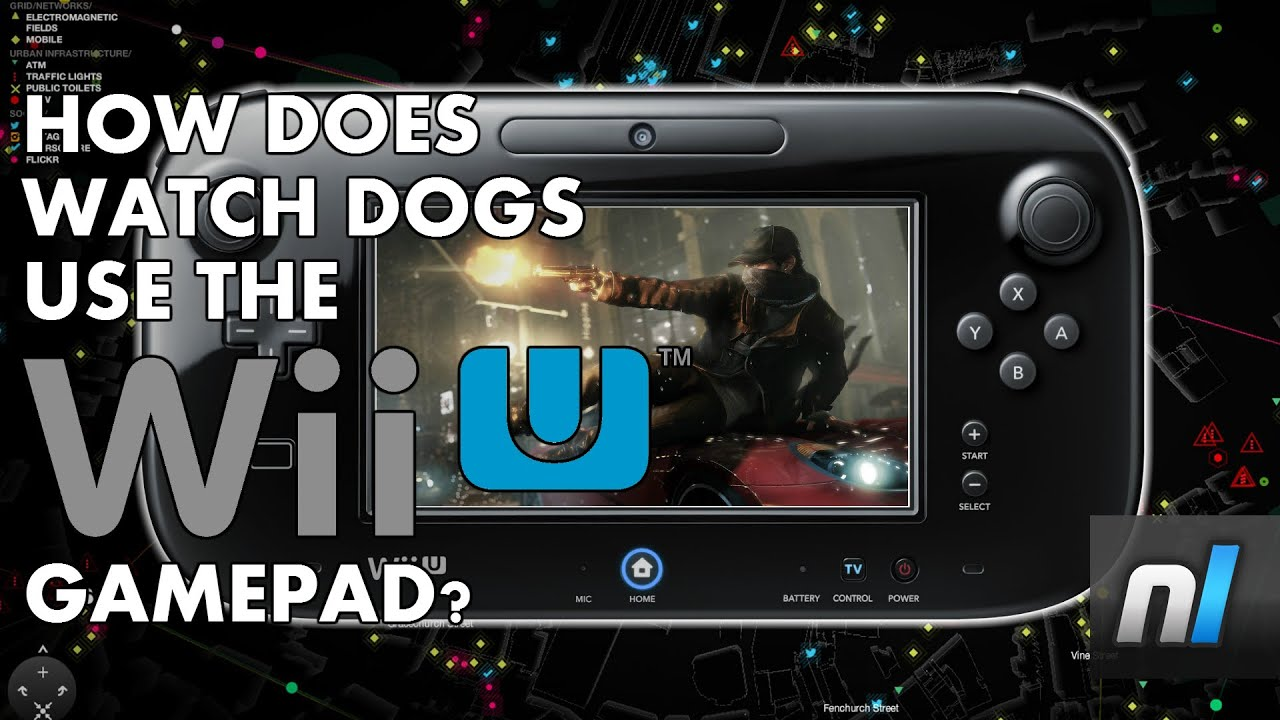 Watch Dogs Wii U Gamepad