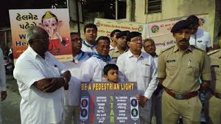 Road safety awareness by Surat City Traffic Police