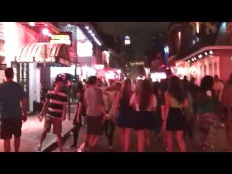 New Orleans - One Night in Bourbon Street, French Quarter (Jul-4th-2013)