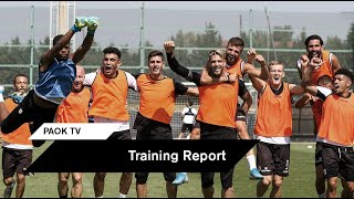 Κυκλοφορία και... παιχνίδι πριν τη Σλόβαν - PAOK TV