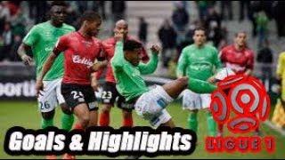 Saint-Étienne vs Guingamp - Goals & Highlights - Ligue 1 18-19