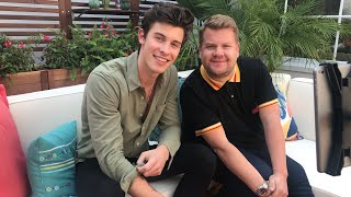 Shawn Mendes Twitter Q&A w/ James Corden