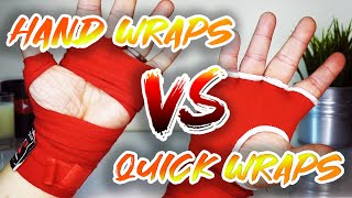 Boxing Hand Wraps VS Gel Quick Wraps - Which is Best