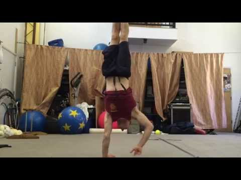 How To Walk On Your Hands -Handstand Walking Tutorial - 4 Minute Lesson
