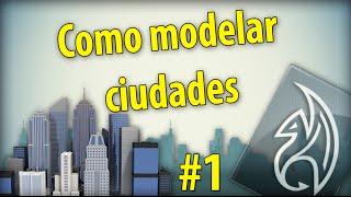 Como modelar una ciudad en maya para unity3d 1/4