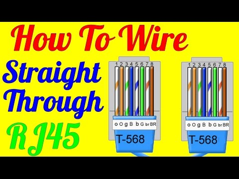 How To Make An Ethernet Cat5 Rj45 Crossover Cable – Rj45 Wire Diagram