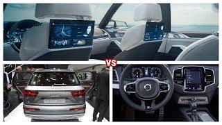 2019 BMW X7   vs 2018 Audi Q7  vs Volvo XC90. Head to Head.