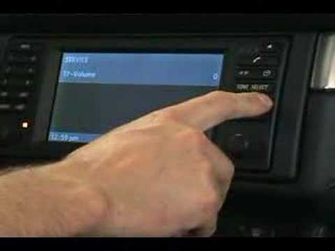 BMW E39 radio programming