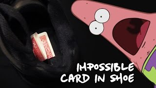 Impossible Card to Shoe – TUTORIAL