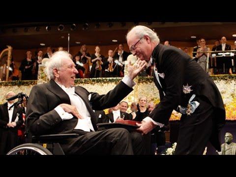 Tomas Tranströmer receives his Nobel Prize