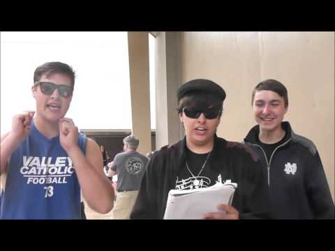 Valley Catholic Choir Hawaii Trip Part Nine: Spoof Songs