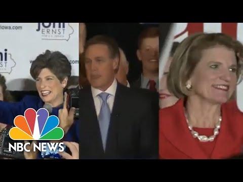 Midterm Eelections: New Republicans Help Secure Senate | NBC News