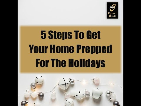 5 Steps to Prepare Your Home for the Holidays