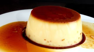 Crème renversée au caramel : Techniques de base en cuisine