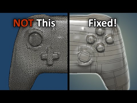 Better STL to BRep Conversion in Fusion 360