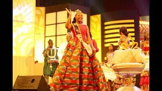 GHANA's MOST BEAUTIFUL WINNER, ABENA RETURNS TO EASTERN REGION WITH CROWN