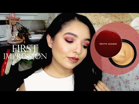 KEVIN AUCOIN THE SENSUAL SKIN ENHANCER | First Impression & Wear-Test Demo ♡ Cherie Jo