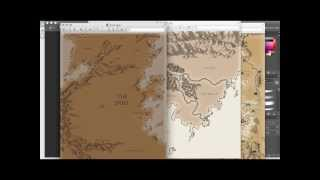 Fantasy Mapmaking Tutorial (1 of 5)