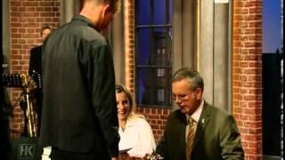 Die Harald Schmidt Show - Folge 0956 - 2001-07-12 - Marie Bäumer, David Duchovny, Martin Walser