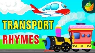 Transport Rhymes   Nursery Rhymes    Kingini Chellam   Magic Box Malayalam