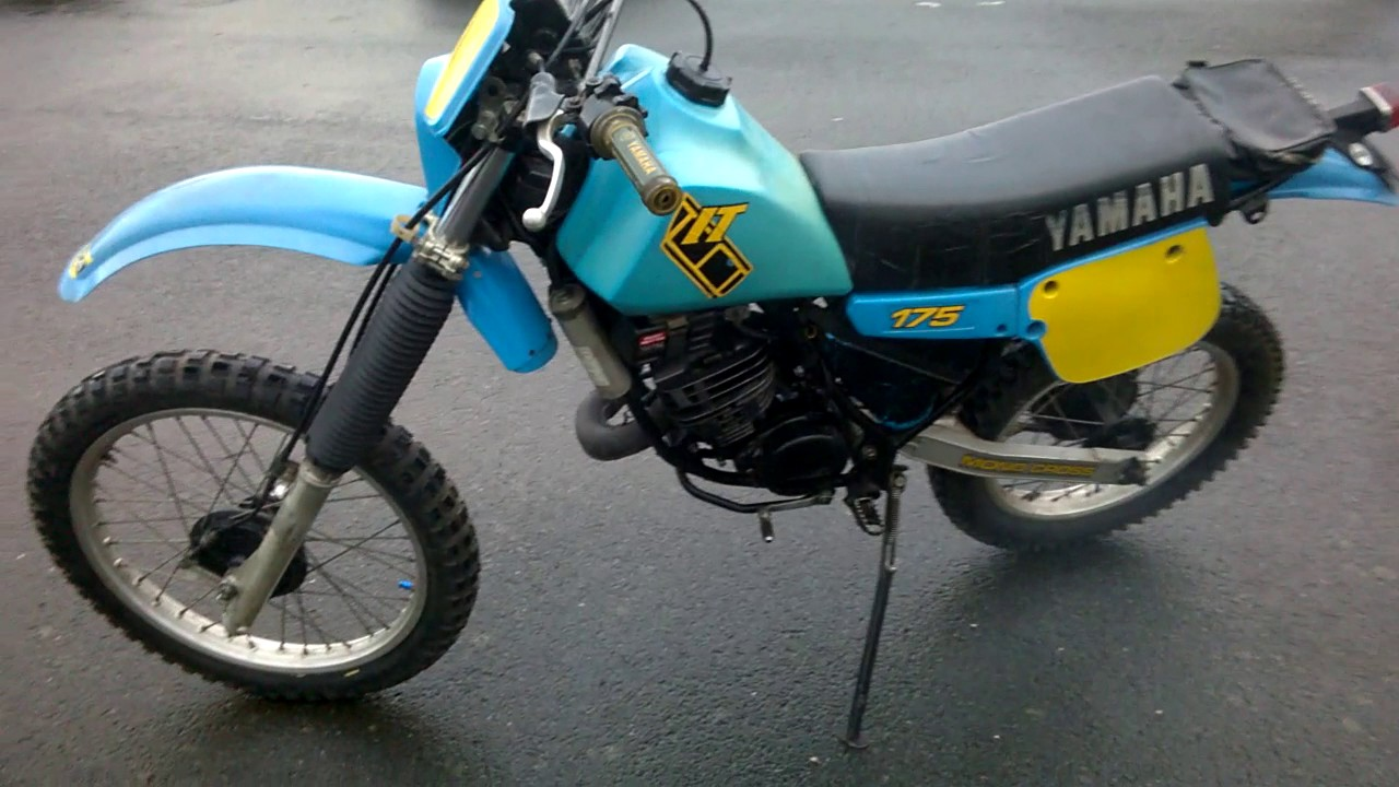 yamaha it. yamaha it 175 j 1982 classic it