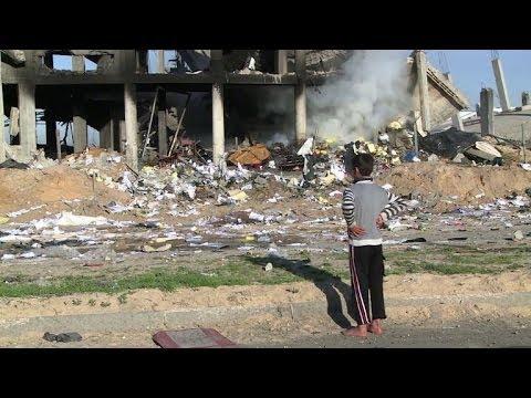 Israel strikes in Gaza in response to rocket attack