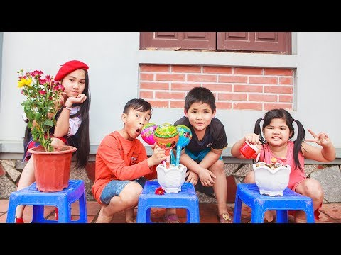Kids go to School Learn | The creativity of Chuns With Forest