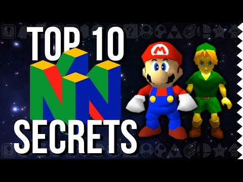 Top 10 Nintendo 64 Secrets and Easter Eggs! - Easter Egg Hunter