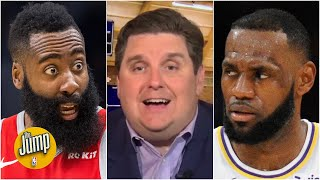 I would LOVE to see a Lakers vs. Rockets second-round series - Brian Windhorst | The Jump