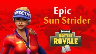 Sun Strider Skin(Fortnite Battle Royale)