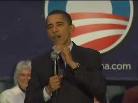Barack Obama in Salem, OR