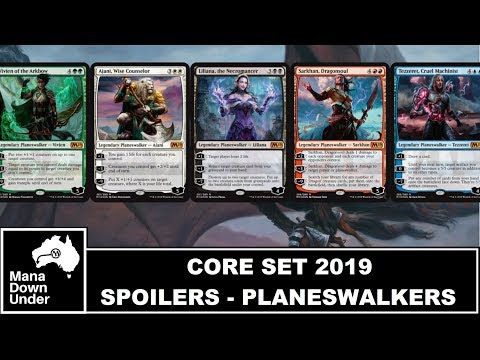 MTG Core Set 2019 Spoilers (M19): Intro Planeswalkers Revealed and More!!!